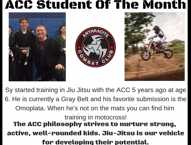 ACC Student of the week